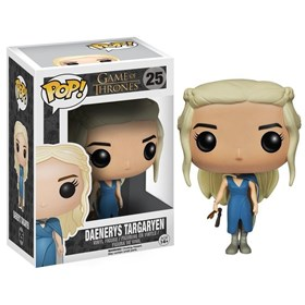 Funko Pop Mhysa Daenerys #25 - Vestido Azul - Game Of Thrones