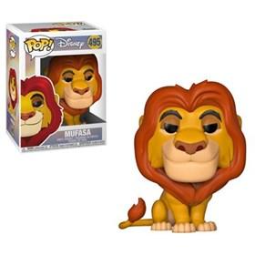 Funko Pop Mufasa #495 - O Rei Leão - Disney