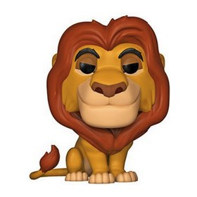 Funko Pop Mufasa #495 - O Rei Leão - Lion King - Disney