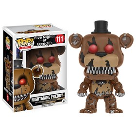 Funko Pop Nightmare Freddy #111 - Five Nights at Freddy's