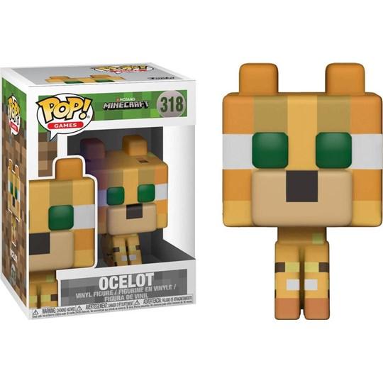 Funko Pop Ocelot #318 - Minecraft - Games