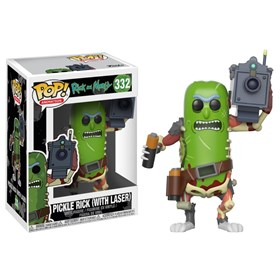 Funko Pop Pickle Rick with Laser #332 - Rick & Morty