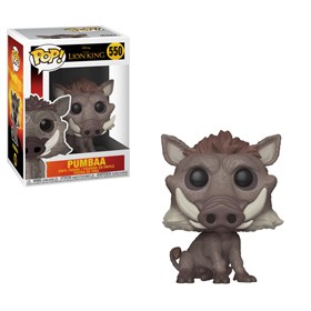 Funko Pop Pumbaa #550 - O Rei Leão - Lion King - Disney