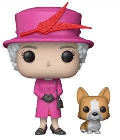 Produto Funko Pop Queen Elizabeth II #01 - Rainha Elizabeth - Família Real - Royals