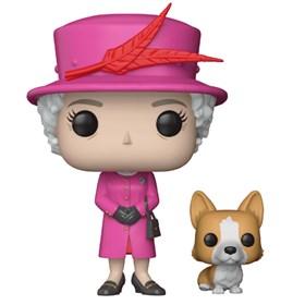 Funko Pop Queen Elizabeth II #01 - Rainha Elizabeth - Família Real - Royals