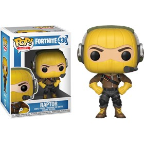 Funko Pop Raptor #436 - Fortnite - Games