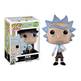 Funko Pop Rick #112 - Rick & Morty - Animation