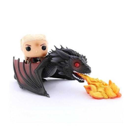 Funko Pop Rides Daenerys on Fiery Drogon #68 - Game of Thrones