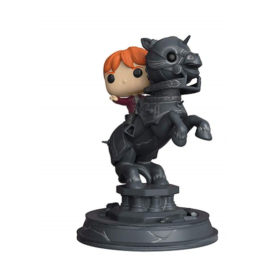 Funko Pop Ron Weasley Riding Chess Piece #82 - Harry Potter - Movie Moments