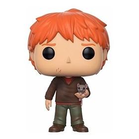 Funko Pop Ron Weasley with scabbers #44 - Ron Weasley com Perebas - Harry Potter