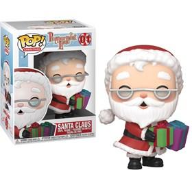 Funko Pop Santa Claus #01 - Papai Noel Natal Peppermint Lane - Christmas