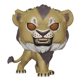 Funko Pop Scar #548 - The Lion King - O Rei Leão Filme - Disney
