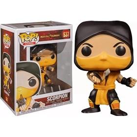 Funko Pop Scorpion #537 - Mortal Kombat
