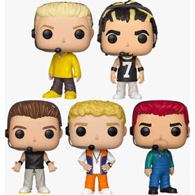 Funko Pop Set NSYNC - 5 Personagens - Rocks