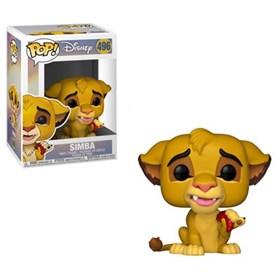 Funko Pop Simba #496 - O Rei Leão - Lion King - Disney