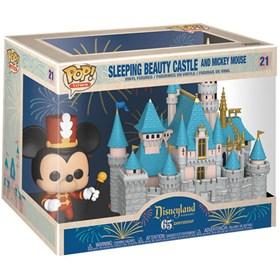Funko Pop Sleeping Beauty Castle - Castelo da Bela Adormecida #21 - Disneyland 65th Anniversary - Pop Town! - Disney