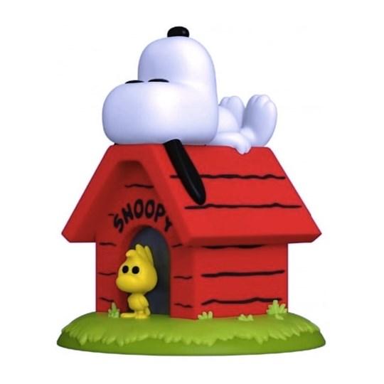 Funko Pop Snoopy & Woodstock on Doghouse #856 - Peanuts - Turma do Charlie Brown Minduim