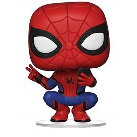 Funko Pop Spider-Man Hero Suit #468 - Homem-Aranha Far From Home - Marvel