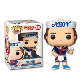 Funko Pop Steve #803 - Steve Ahoy Sorveteria - Stranger Things