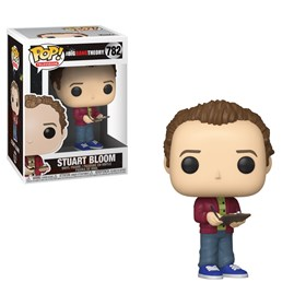 Funko Pop Stuart Bloom #782 - The Big Bang Theory - Seriados