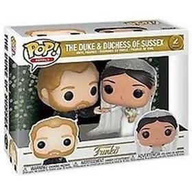 Funko Pop The Duke and Duchess of Sussex 2-pack # - Pop Royals Duque e Duquesa de Sussex