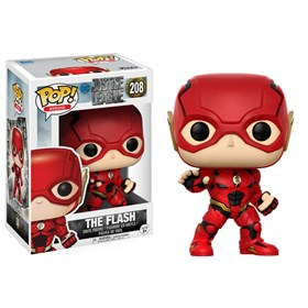 Funko Pop The Flash #208 - A Liga da Justiça - DC Comics