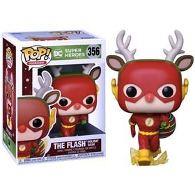 Funko Pop The Flash the Holiday Dash #356 - DC Comics