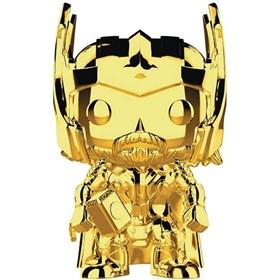 Funko Pop Thor Gold Chrome #381 - Dourado 10 Years Edition - Marvel