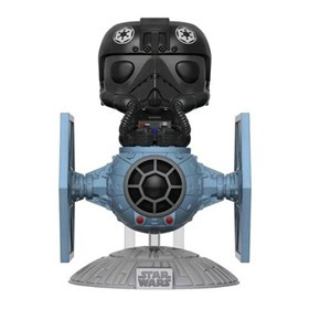 Funko Pop Tie Fighter Pilot C/ Tie Fighter #221 - Pop Rides - Star Wars
