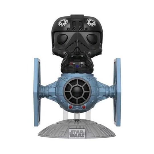 Funko Pop Tie Fighter Pilot C/ Tie Fighter #221 - Pop Rides - Star Wars
