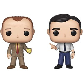 Funko Pop Toby vs Michael #2-Pack - The Office