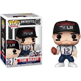 Funko Pop Tom Brady Patriots #137 - NFL