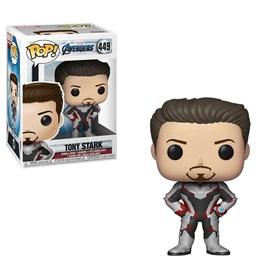 Funko Pop Tony Stark #449 - Iron Man Vingadores Ultimato - Marvel