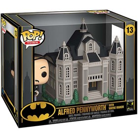 Funko Pop Town Alfred Pennyworth with Wayne Manor #13 - Batman 80th - DC Comics