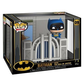 Funko Pop Town Batman with Hall of Justice #09 - Batman 80th - DC Comics