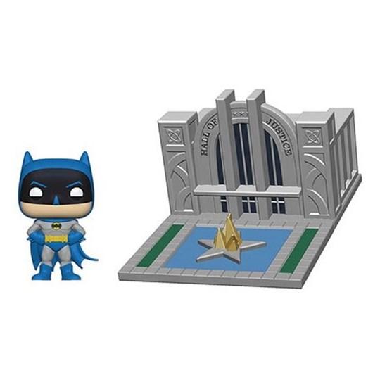 Funko Pop Town Batman with Hall of Justice #09 - Batman 80th - DC Comics