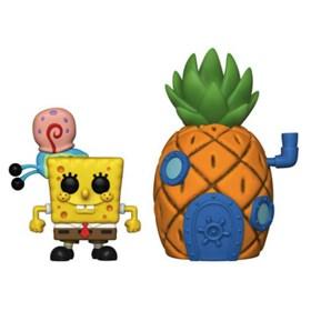 Funko Pop Town Spongebob with Gary & Pineapple House #02 - Bob Esponja