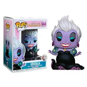 Funko Pop Ursula With Eels #568 - The Little Mermaid - A Pequena Sereia -  Disney