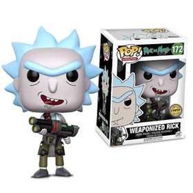 Funko Pop Weaponized Rick Chase Edition #172 - Rick & Morty