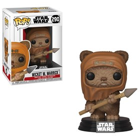 Funko Pop Wicket W. Warrick #290 Ewok - Retorno de Jedi - Star Wars