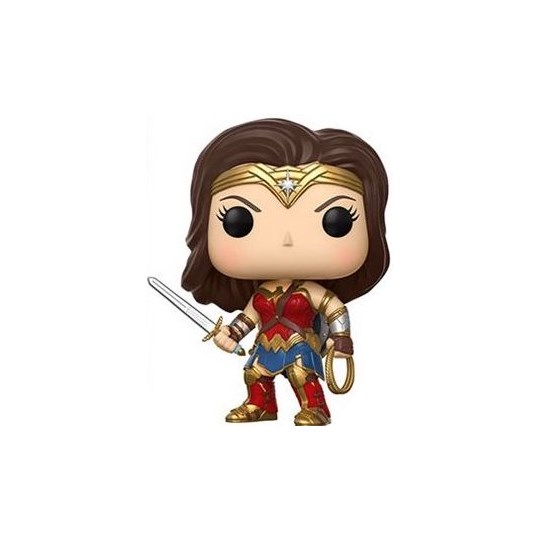 Funko Pop Wonder Woman #206 - Justice League - Liga da Justiça - DC Comics