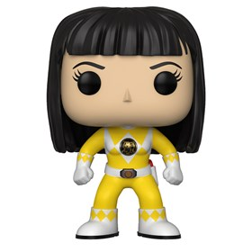 Funko Pop Yellow Ranger #674 - Trini No Helmet - Power Rangers Amarelo