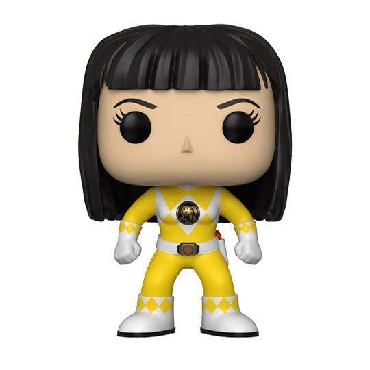 Funko Pop Yellow Ranger #674 - Trini No Helmet - Power Rangers Amarelo