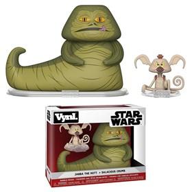 Funko Vinyl Figure Jabba & Salacious Crumb - Star Wars - Movies