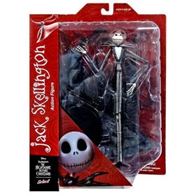 Jack Skellington Select Figure - Nightmare Before Christmas - O Estranho Mundo de Jack - Diamond Sel