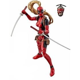 Lady Deadpool sem peça Baf Sauron Series Marvel Legends Hasbro