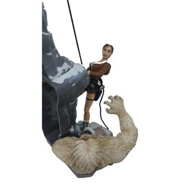 Lara Croft Conquers the Legendary Yeti Tomb Raider Playmates