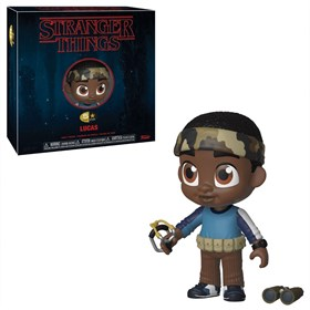 Lucas 5 Star Vinyl Figures Funko - Stranger Things - Netflix