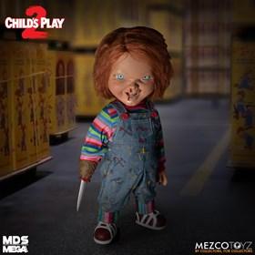 Menacing Chucky Child's Play 2 38 cm - Mega Scale Menacing Talking Doll - Mezco