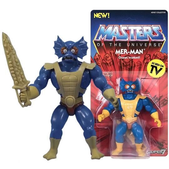 Mer-Man Aquático Vintage Masters of The Universe - MOTU - Super7